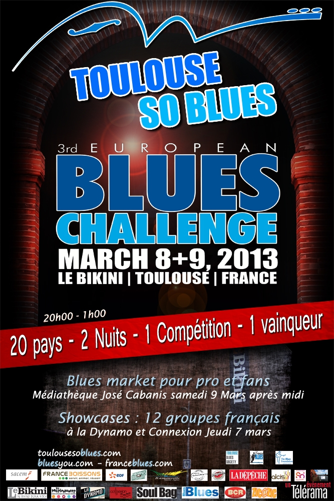 Toulouse So Blues Poster